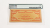"""1934 $100,000 """"Smithsonian Edition"""" Gold Certificate (PMG 70) at PristineAuction.com"""