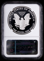 2008-W American Silver Eagle $1 One Dollar Coin - Eizabeth Jones Signed Label (NGC PF69 Ultra Cameo) at PristineAuction.com