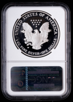 2006-W American Silver Eagle $1 One Dollar Coin - Elizabeth Jones Signed Label (NGC PF69 Ultra Cameo) at PristineAuction.com