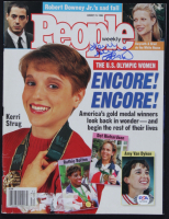 "Kerri Strug Signed 1996 People Magazine Inscribed ""'96"" (PSA COA) at PristineAuction.com"