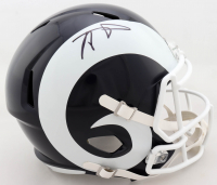 Aaron Donald Signed Rams Full-Size Speed Helmet (PSA COA) at PristineAuction.com