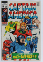 "Vintage 1969 ""Captain America"" Issue #116 Marvel Comic Book at PristineAuction.com"