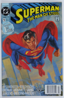 """Vintage 1991 """"Superman: The Man of Steel"""" #1 DC Comic Book at PristineAuction.com"""
