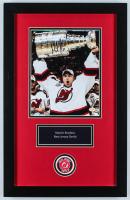 Martin Brodeur Signed Devils 14x22 Custom Framed Photo Display (JAG Hologram) (See Description) at PristineAuction.com