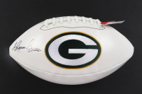 Ahman Green Signed Packers Logo Football (Beckett COA) (See Description) at PristineAuction.com