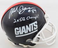 "Mark Bavaro Signed Giants Mini-Helmet Inscribed ""2x SB Champs!"" (PSA COA) at PristineAuction.com"