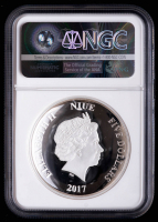 2017 $5 Five Dollar NIUE Proof Silver Darth Vader Star Wars - First Releases Ultra High Relief Coin (NGC PF 69 Ultra Cameo) at PristineAuction.com