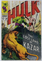 """1968 """"The Incredible Hulk"""" Issue #109 Marvel Comic Book at PristineAuction.com"""