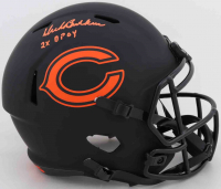 "Dick Butkus Signed Bears Full-Size Eclipse Alternate Speed Helmet Inscribed ""2x DPOY"" (Beckett COA) (See Description) at PristineAuction.com"