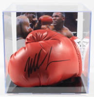Mike Tyson Signed Everlast Boxing Glove with Display Case (PSA Hologram) at PristineAuction.com