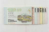 Vintage Tokyo Disneyland Big 10 Ticket Book With (8) Tickets at PristineAuction.com