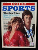 "Jim Palmer Signed 1981 Inside Sports Magazine Inscribed ""HOF 90"" (PSA COA) at PristineAuction.com"