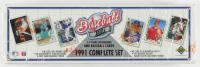 1991 Upper Deck Baseball Card Box Complete Set with Chipper Jones RC at PristineAuction.com