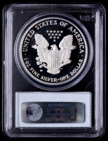 2005-W American Silver Eagle $1 One Dollar Coin (PCGS PR69 Deep Cameo) at PristineAuction.com