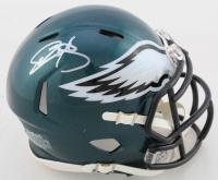 Donovan McNabb Signed Eagles Speed Mini Helmet (Beckett COA) at PristineAuction.com