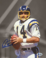 Dan Fouts Signed Chargers 8x10 Photo (Beckett COA) at PristineAuction.com