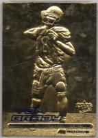 Tom Brady 2000 Fleer Utlra 23Kt Gold Card at PristineAuction.com