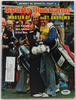 Jack Nicklaus Signed 1978 Sports Illustrated Magazine (PSA LOA) at PristineAuction.com