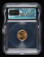 2007 American Gold Eagle $5 Five Dollar 1/10 oz Gold Coin - First Strike (ICG MS70) at PristineAuction.com
