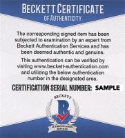 Walter Goodman Signed 8.75x10.75 Custom Framed Newspaper Cut Photo Display (Beckett COA) at PristineAuction.com