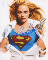 "Laura Vandervoort Signed ""Smallville"" 8x10 Photo (Beckett COA) at PristineAuction.com"