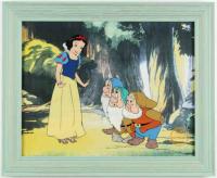 "Walt Disney's LE ""Snow White"" 13.5x16 Custom Framed Animation Serigraph Display at PristineAuction.com"