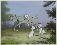 """101 Dalmatians"" 11x15 Original Production Used Animation Serigraph Cel at PristineAuction.com"