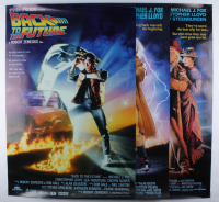 "Lot of (3) Back to the Future 27x40 Posters with ""Back to the Future,"" ""Back to the Future Part II"", Back to the Future Part III"" (See Description) at PristineAuction.com"