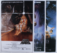 "Lot of (3) ""Star Wars: A New Hope,"" ""Star Wars: Empire Strikes Back,"" & ""Star Wars: Return of the Jedi"" 24x32 Posters at PristineAuction.com"