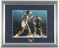 Muhammad Ali 13x16 Custom Framed Photo Display with Pin at PristineAuction.com