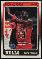 Michael Jordan 1988-89 Fleer #17 at PristineAuction.com