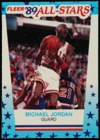 Michael Jordan 1989-90 Fleer Stickers #3 at PristineAuction.com