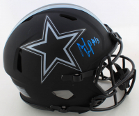 Michael Gallup Signed Cowboys Eclipse Alternate  Full-Size Authentic On-Field Speed Helmet (JSA COA) at PristineAuction.com