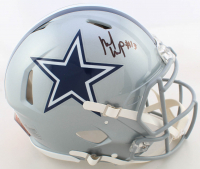 Michael Gallup Signed Cowboys Full-Size Authentic On-Field Speed Helmet (JSA COA) at PristineAuction.com