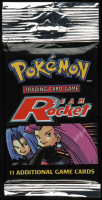 Pokemon Base Set Team Rocket Booster Pack with (11) Cards at PristineAuction.com