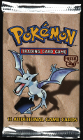 Pokemon Base Set Fossil Booster Pack with (11) Cards at PristineAuction.com