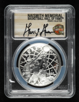 George Gervin Signed 2020-P Basketball Hall of Fame Silver Dollar - First Day of Issue (PCGS PR70 Deep Cameo) at PristineAuction.com