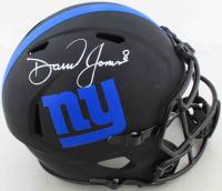 Daniel Jones Signed Giants Full-Size Eclipse Alternate Speed Helmet (Beckett COA) at PristineAuction.com