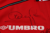Manchester United F.C. Jersey Team-Signed By (13) With Teddy Sherringham, Ryan Giggs, Dwight Yorke (JSA LOA) at PristineAuction.com