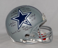 Tony Dorsett Signed Cowboys Full-Size Authentic On-Field Helmet With (9) Career Stat Inscriptions (JSA Hologram) at PristineAuction.com