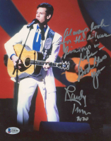 Randy Travis Signed 8x10 Photo With Extensive Inscription (Beckett COA) at PristineAuction.com