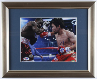 Manny Pacquiao Signed 13x16 Custom Framed Photo Display (PSA COA) at PristineAuction.com