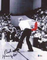 Bobby Knight Signed Indiana Hoosiers 8x10 Photo (Beckett COA) at PristineAuction.com