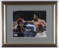 "Manny Pacquiao Signed 13x16 Custom Framed Photo Display Inscribed ""Pacman"" (PSA COA) at PristineAuction.com"