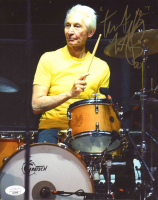 Charlie Watts Signed 8x10 Photo (JSA COA) at PristineAuction.com