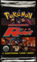 Pokemon Base Set Team Rocket First Edition Booster Pack with (11) Cards at PristineAuction.com