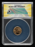 1999 American Gold Eagle $5 Five Dollar 1/10 oz Gold Coin (ANACS MS70) at PristineAuction.com