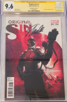 "Stan Lee Signed 2014 ""Original Sin"" Issue #1 Gabriele Dell'Otto Variant Marvel Comic Book (CGC Encapsulated - 9.6) at PristineAuction.com"