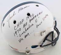 Jack Ham Signed Penn State Nittany Lions Full-Size Helmet with Extensive Inscription (JSA COA) at PristineAuction.com