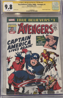 "Stan Lee Signed 2017 ""True Believers"" Issue #1 Marvel Comic Book (CGC Encapsulated - 9.8) at PristineAuction.com"